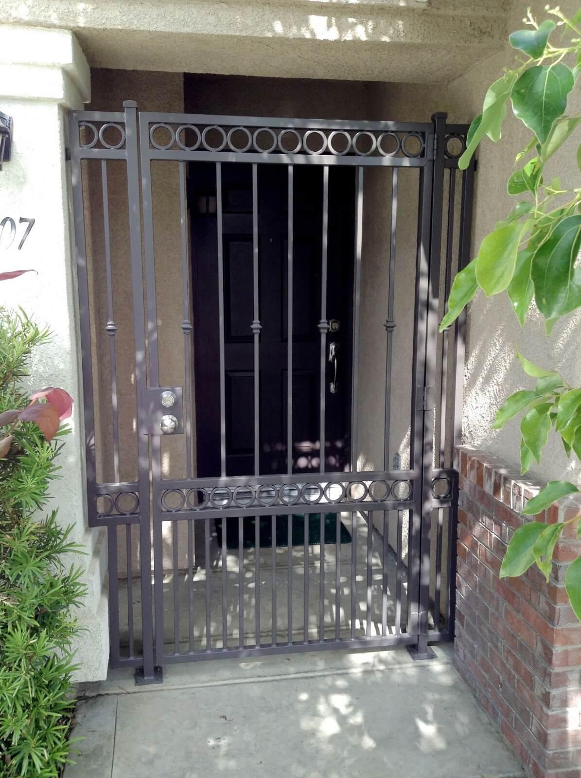 Front Enclosures Security Doors