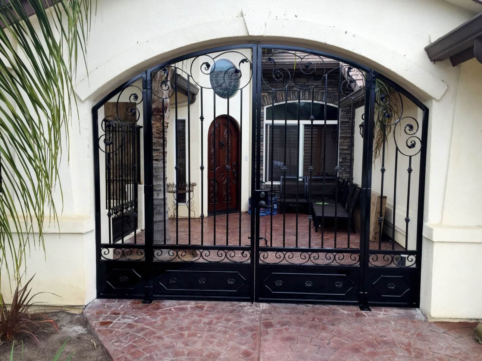 Wrought Iron Security Gates Doors In Bakersfield Ca
