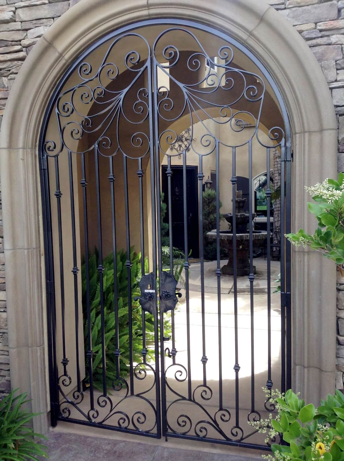Wrought Iron Fencing Bakersfield Our Work Gallery Jaguar
