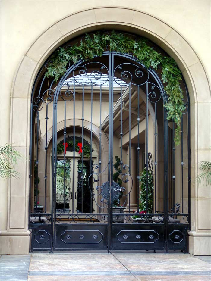 Wrought Iron Security Gates Amp Doors In Bakersfield Ca